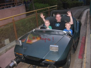 Autopia with Dad