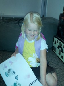 Karlee showed Cali how to do Braids and Ponies so she (with my help) did one of each for school that week :)