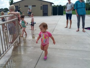 Cedar owned the splash pad