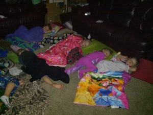 cousin sleepovers!!