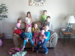all 10 of the kids