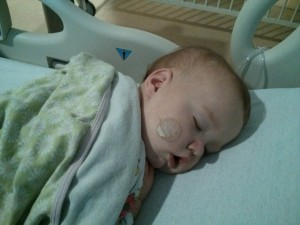 once she pulled the oxygen tubes off and the nurses stopped checking on her she slept like a rock.