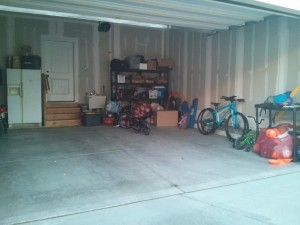 sold the old waverunners - I love seeing my garage empty!