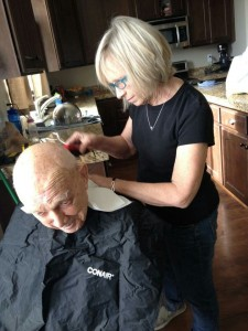 haircut for Grandpa