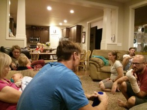 all these people came to visit