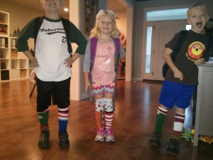 personality. crazy sock day.